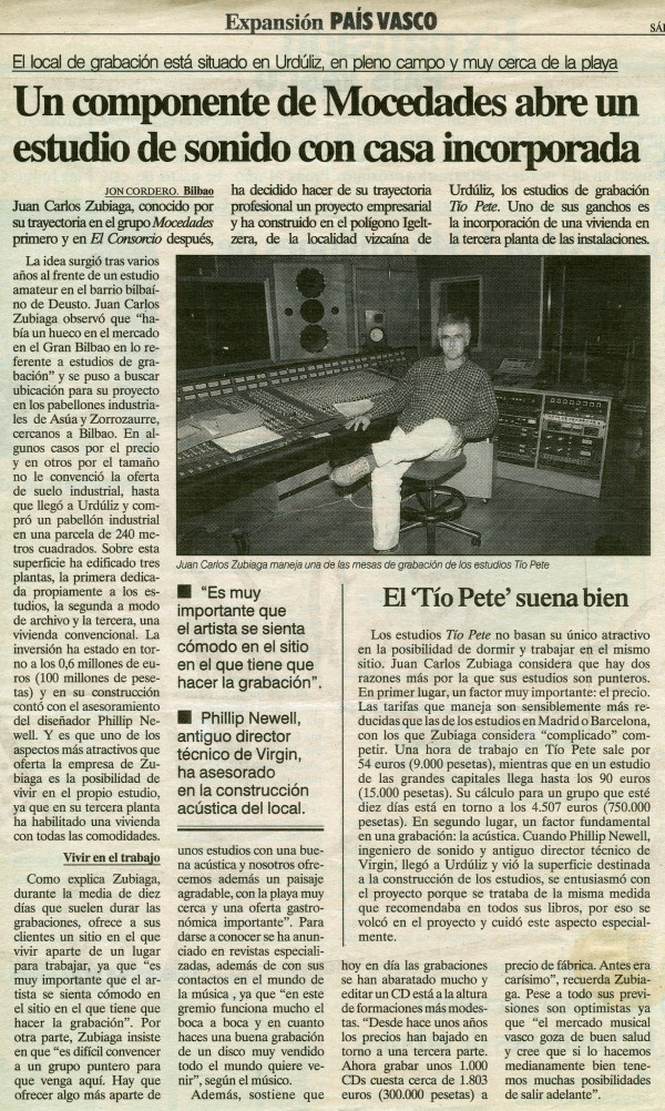 TIOPETE Expansión País Vasco