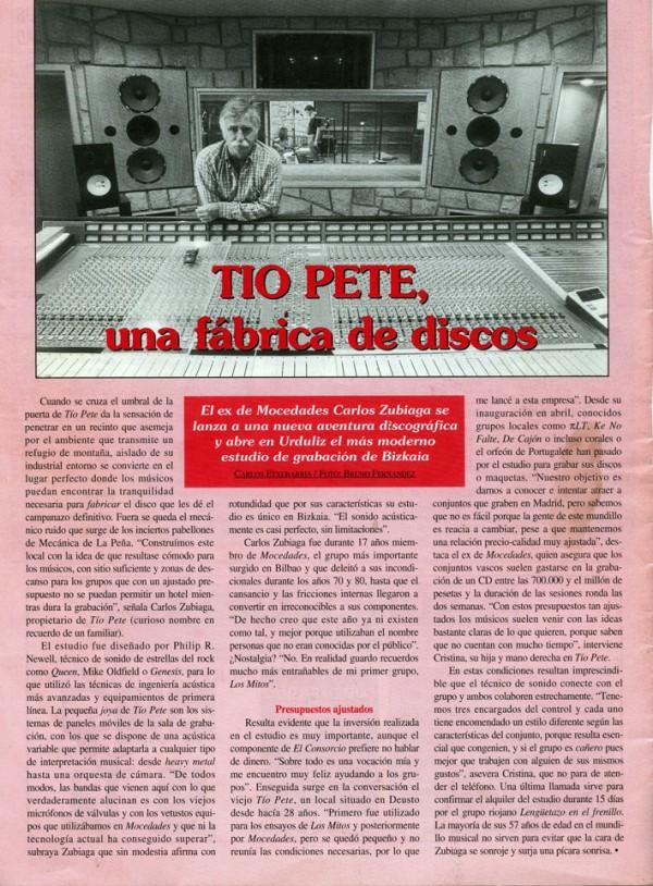 TIOPETE Revista Galea Octubre 99